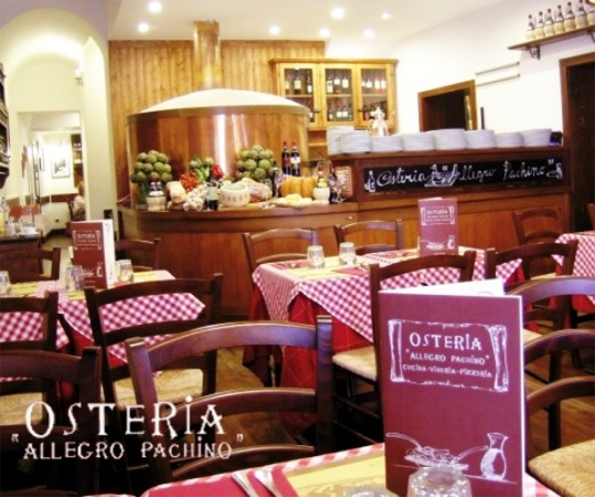OSTERIA ALLEGRO PACHINO-Roma CITTA'
